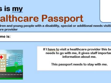 cover of hospital passport