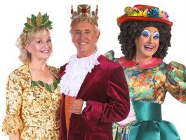 Cambridge Arts Theatre panto cast 2017