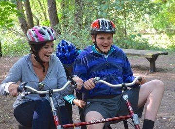 adaptive cycling session