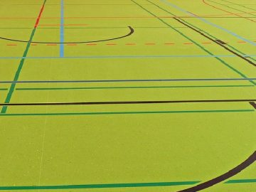 multisport gymn floor