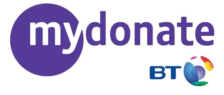 logo for BT my donate scheme