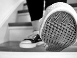 Sneakers photo link to webpage on transitions for young people in Cambridgeshire with disabilities or additional needs