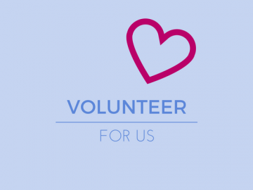 volunteer for us logo