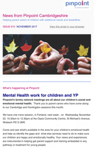 cover of November newsletter