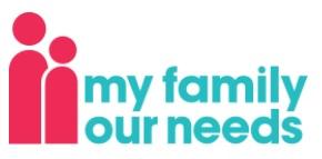 my family my needs logo