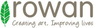 Rowan arts charity logo