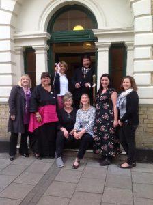 Mayor opens charity office