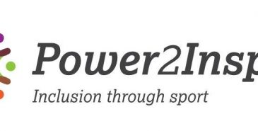 Logo for sports inclusion charity Power2Inspire