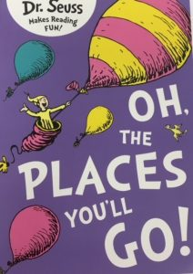 cover of Dr Seuss Oh the Places You'll Go