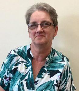 Head and shoulders of Pinpoint volunteer Margaret Soare