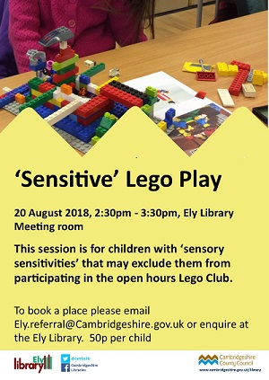 lego play session poster