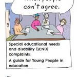 cover of complaints guide for young people with SEND