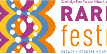 logo for rare disease festival